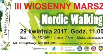 Plakat rajd Nordic Walking